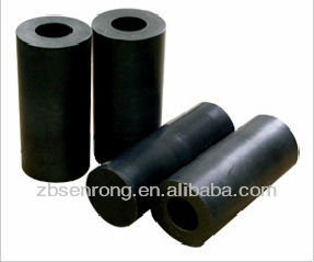 Black virgin PTFE bushing