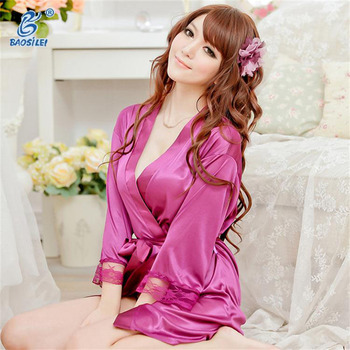 Satin robes for women sexy