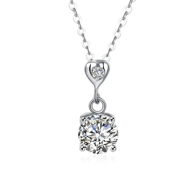 Buy cheap china diamond pendant necklace products find china 925 sterling silver jewelry necklace wholesale american diamond pendant crystal avenue necklace aloadofball Images