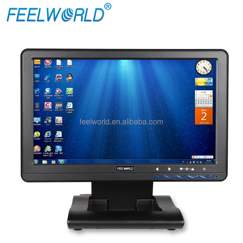 Newest most popular 1366*768 10 inch USB monitor with touch screen for multiple system computers