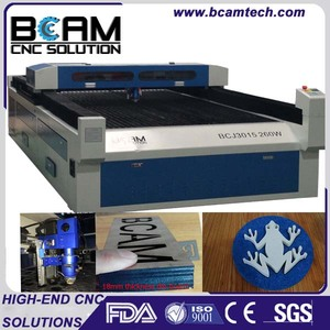 Good focusing 1.3*2.5 size co2 laser engraver cutter machine