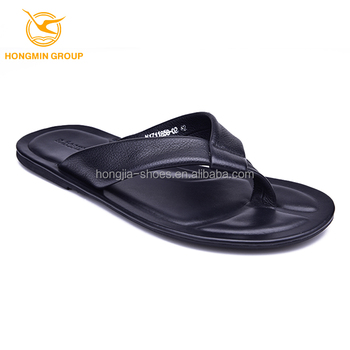 34aedb4d14331c wholesale fashion Pakistan leather summer shoes flat rubber sole slippers  flip flops beach men slippers