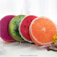 Fruit shape customize throw pillow wholesale