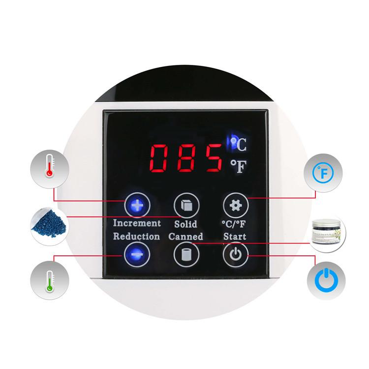 RiseSun Professioneller neuer heißer verkaufender digitaler intelligenter elektrischer Wachs-Heizungs-Wachs-Wärmer
