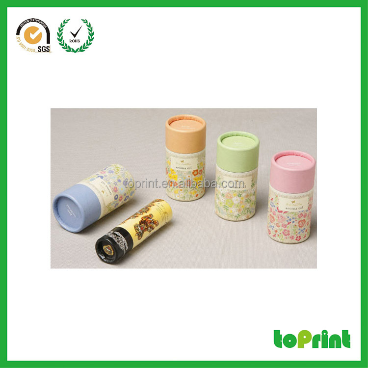 empty cosmetic lipstick containers paper case lip balm push up paper tube