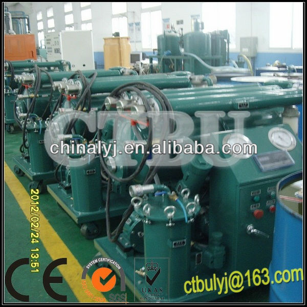 One Stage Vacuum Transformer Oil Purifier, Insulating Oil Recondition, Oil Purification Plant