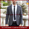 Stylish blazer men slim grey custom jacket