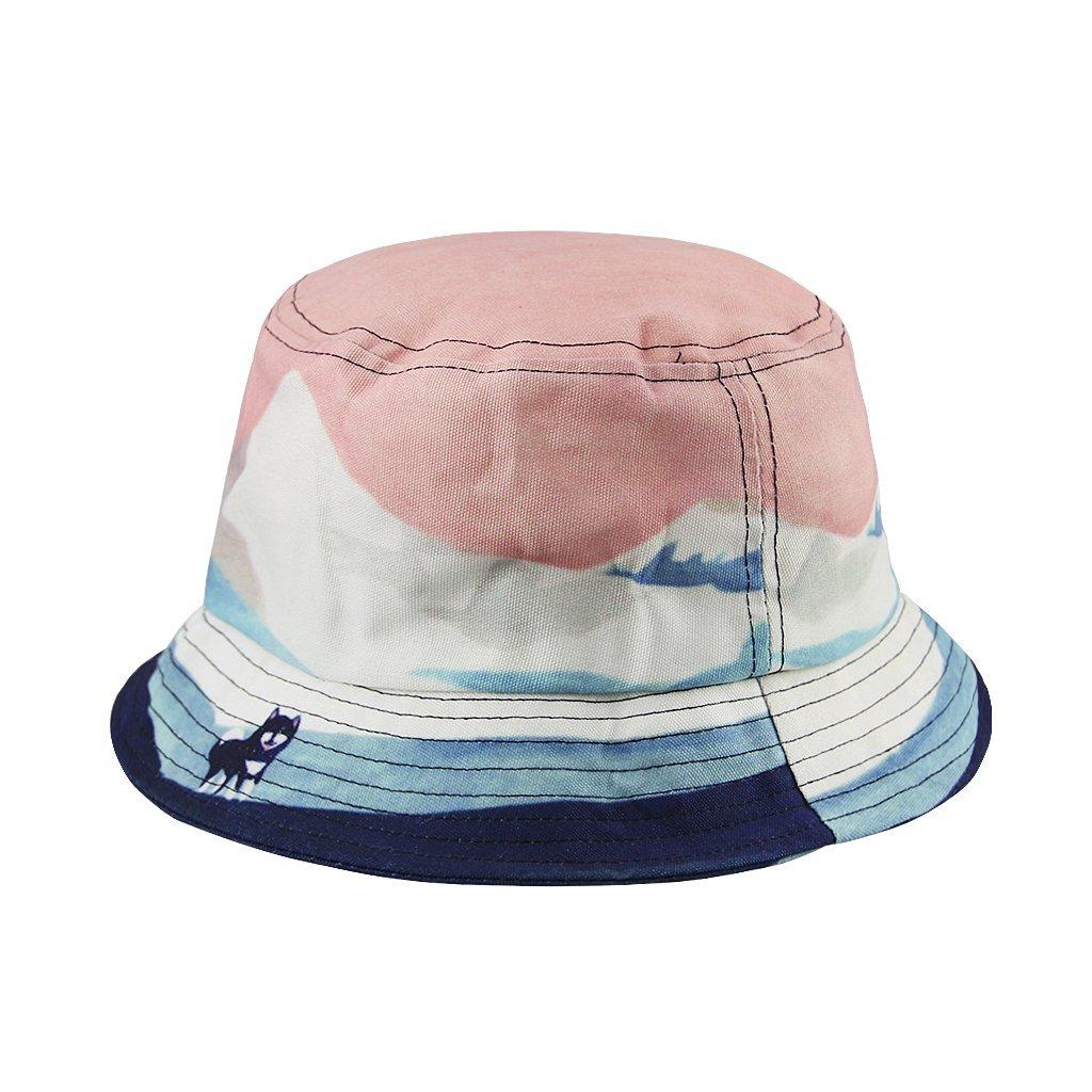 e6599010ac362 Get Quotations · Womens Girls Fashion Summer Spring Autumn Cotton Roll Up  Folding Sun Hat Cap Floppy Travel Bucket