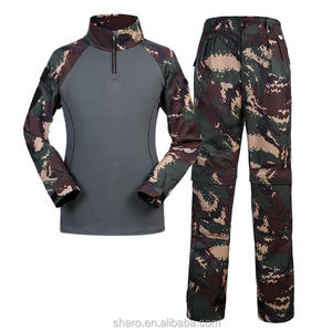 camouflage cotton breathable training outdoor military tactical gear military clothing with military pants