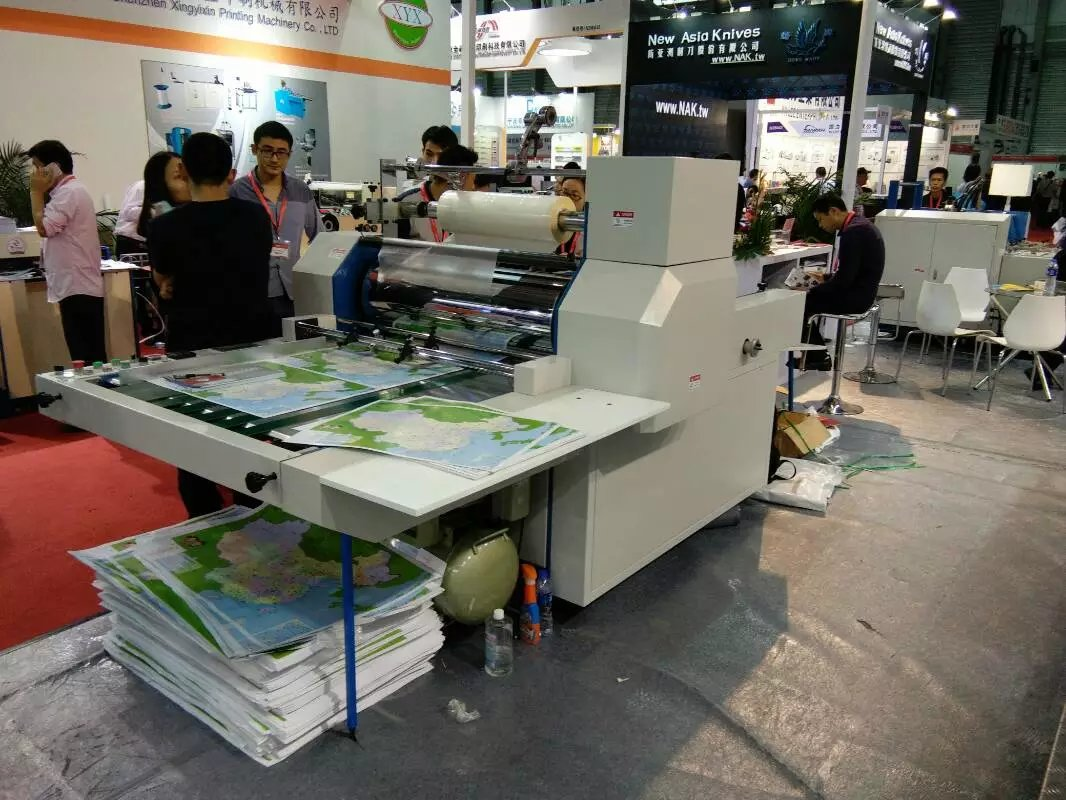 YFMB-720B  Semi Automatic Hot Press Bopp Film  Paper Lamination Machine