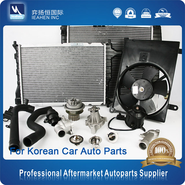 Auto Cooling Parts Radiator / Auto Water Pump / Thermostat / Auto Fan For Korean Car