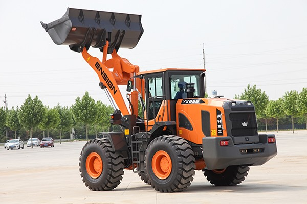 Hot sale 5 tons wheel loader YX655 small front loader with ROPS & FOPS