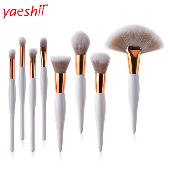 Yaeshii Hot Selling New Arrival Makeup Brush 8Pcs Pro Makeup Brushes Set Foundation Powder Eyeshadow Eyeliner Lip Brushes фото
