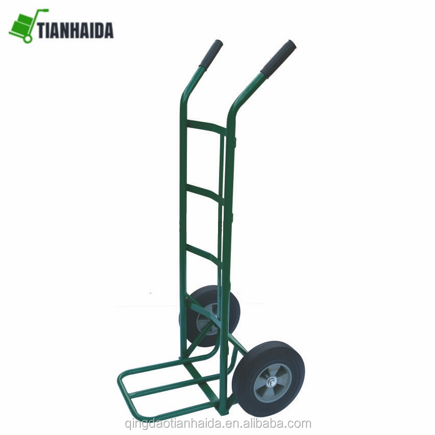 HT2162  Tubular steel frame with loop handle hand trolley truck Ideally suited to both office and warehouse