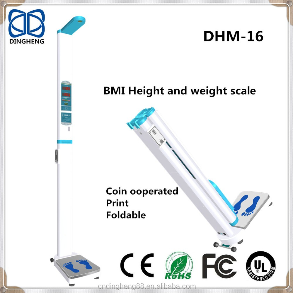 Measure Height And Weight Accurately At Home To Calculate Bmi For Personal  - Buy Body Scale,Weight Balance,Coin-operated Machine Product on