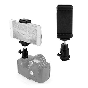 "Manufacturer 1/4"" Phone Clip Holder Hot Shoe Adapter Mount set For action camera"