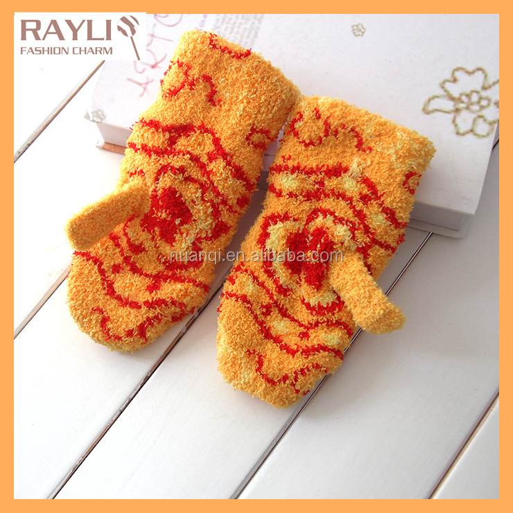 Fashion wholesale Amazig Knitted baby Winter Gloves mittens
