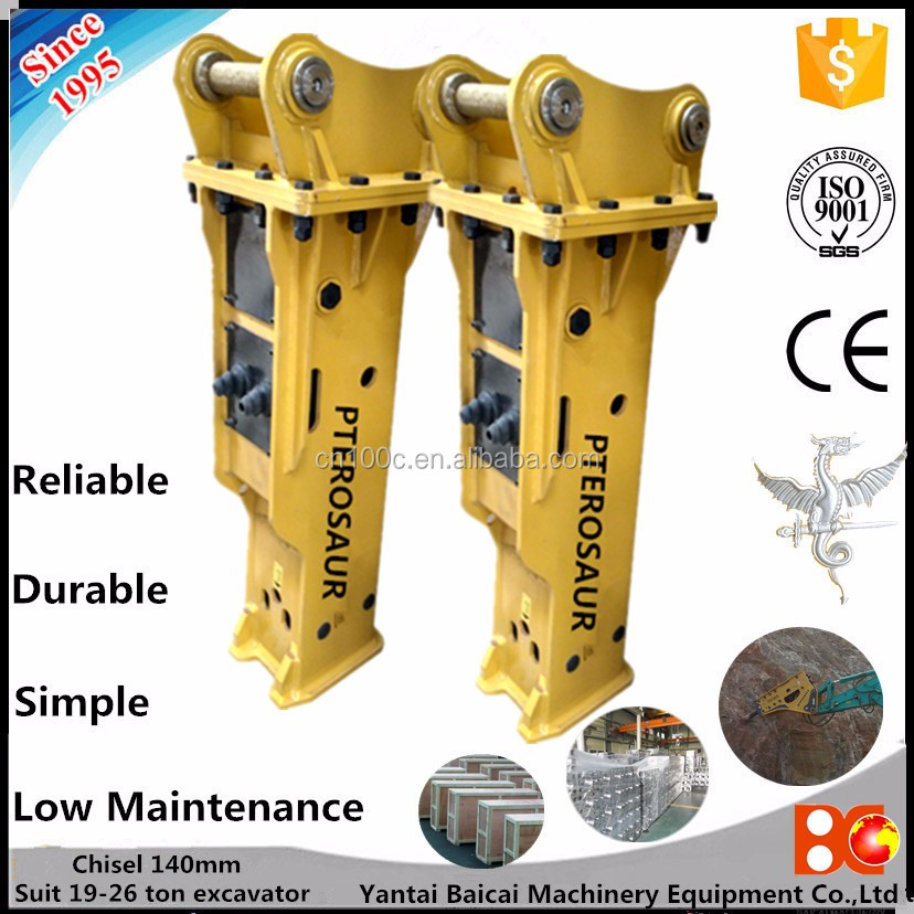 Chicago jack hammer hydraulic breaker hammer excavator power tools