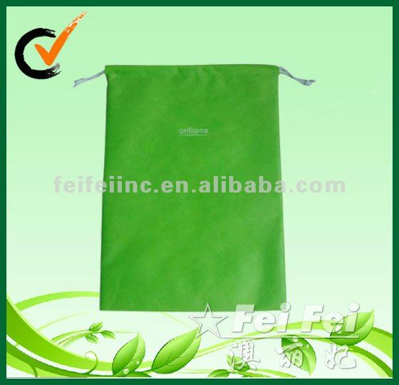 Nonwoven drawstring dust bag for shoes
