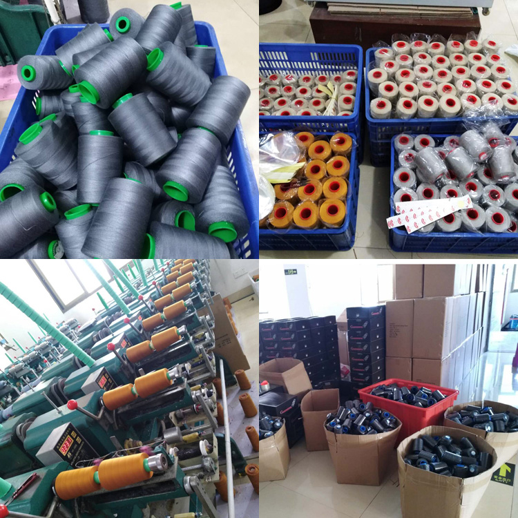 20/2 20/3 40/2 50/3 60/2 42/2 100% Cone Spun Polyester Sewing Thread Used Clothing And Jeans