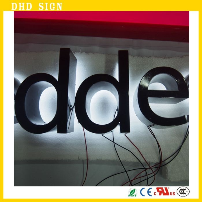 Confident Frontlit Stainless Steel Letters With Leds Metal Letters Led Signage Fine Quality Electronic Components & Supplies