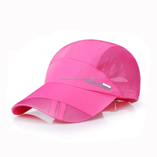 Factory Price Gift Custom Dry Fit Running Mesh Sports Baseball Cap
