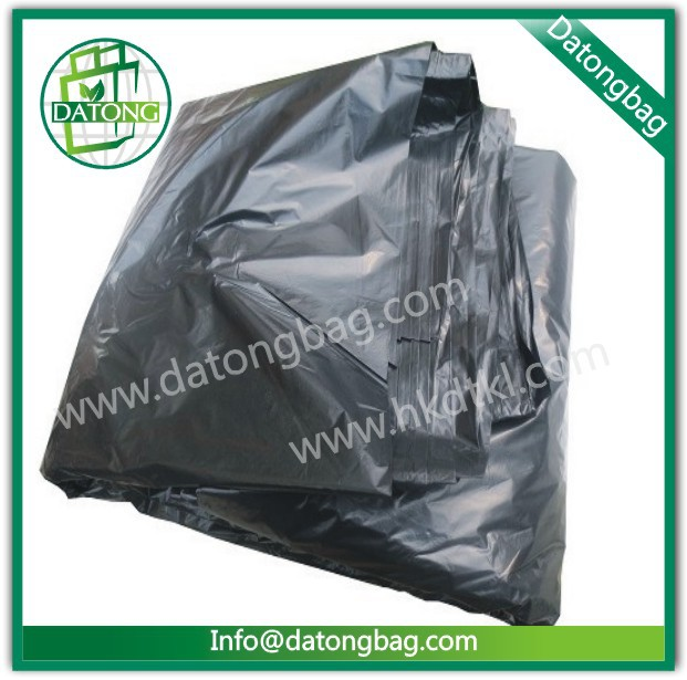 Plastic packing garbage bag manufacturing in loose