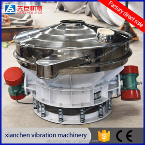 Safety protection kratom powder pineapple juice filter machine straight  line vibrating screen
