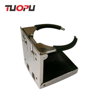 China Factory supply Metal universal foldable cup holder for car