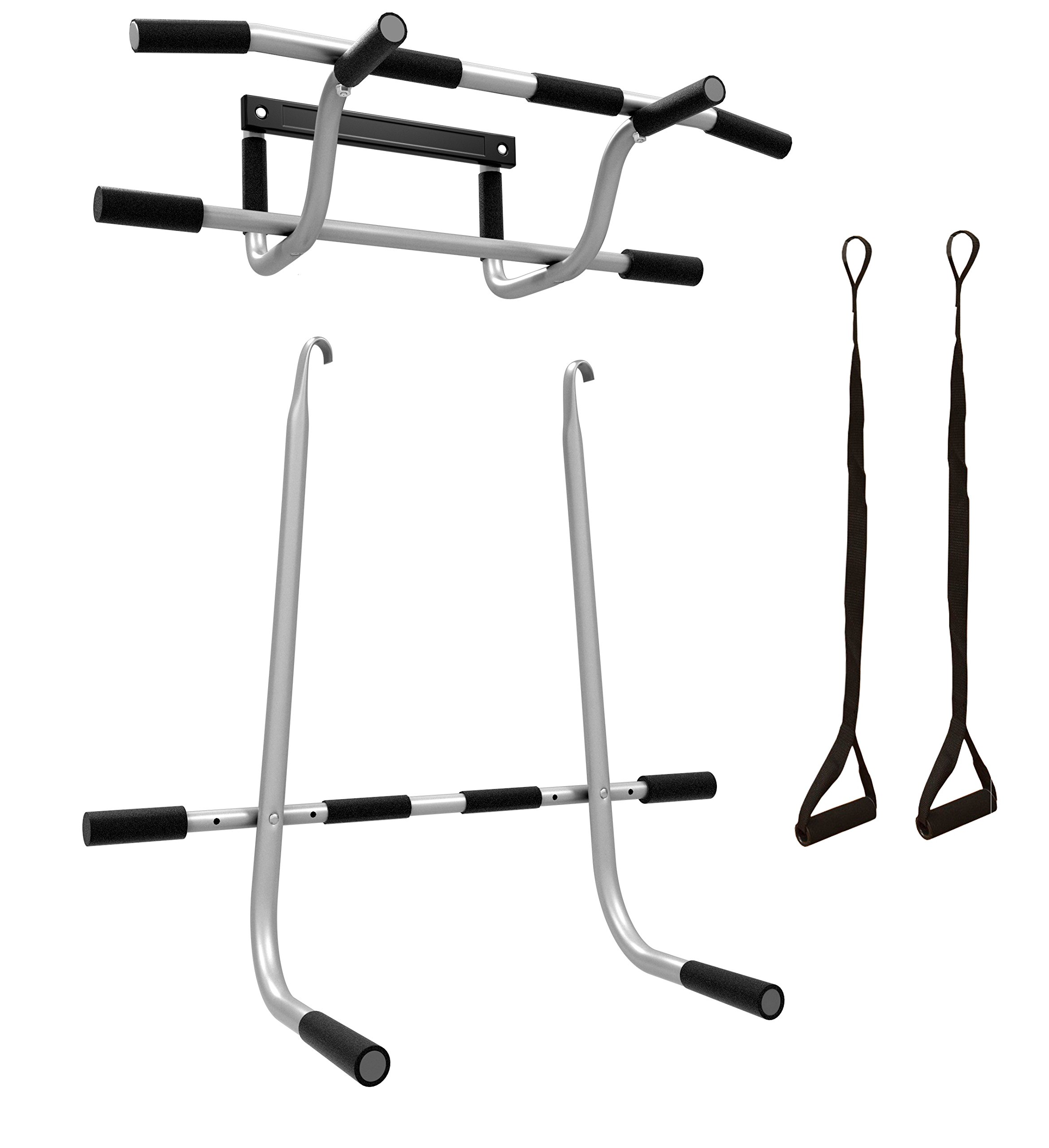 kg en bar loops doorway incl up door pull image for weight frame chin push exercise equipment