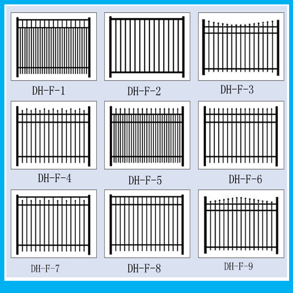 Cheap Best Selling Aluminum Deck Porch Fence Designs to North America Markets