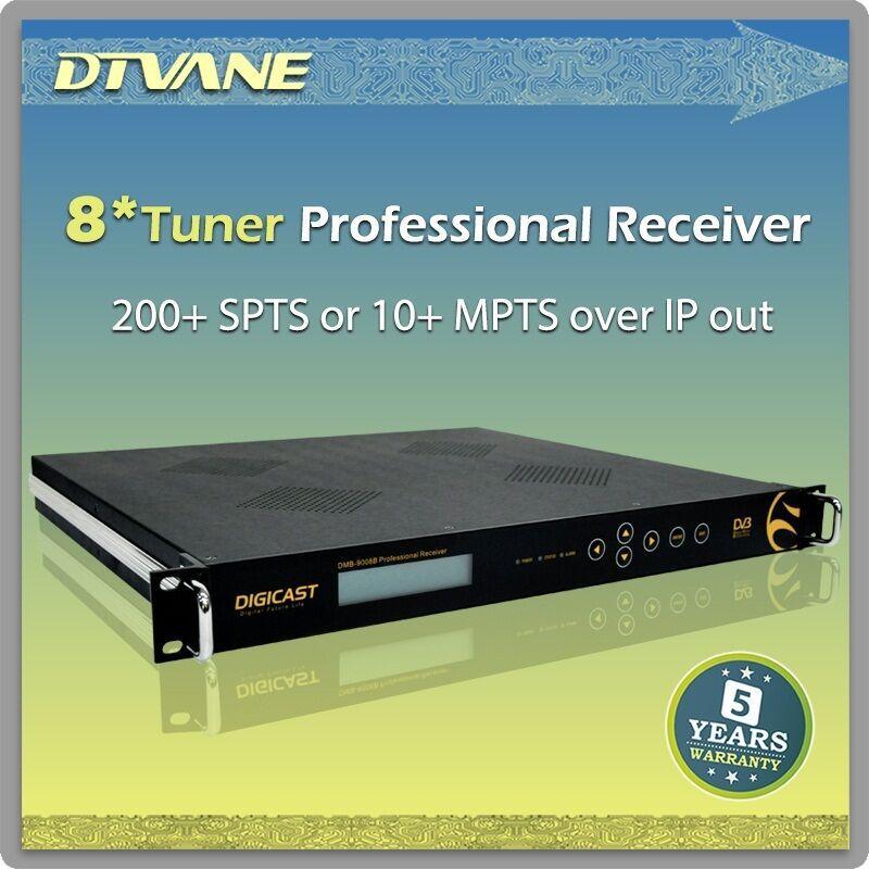dmb-9060a)dtvane Hd/sd Mpeg2/h.264 Decoding 2*tuner Atsc To Ip ...