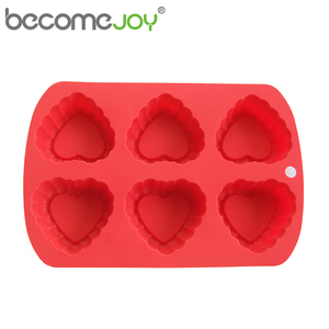 FDA Approved wholesale heart-shaped cake baking custom large 3d silicone molds