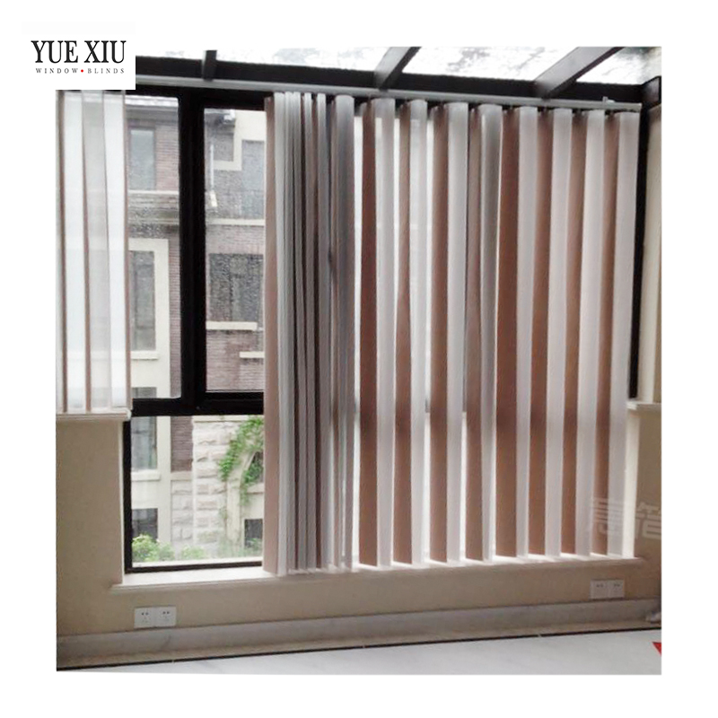 Transparent Sheer Shades Sunscreen Vertical Blinds For Living Room Buy Vertical Shades Vertical Venetian Blinds Sheer Vertical Blinds Product On Alibaba Com
