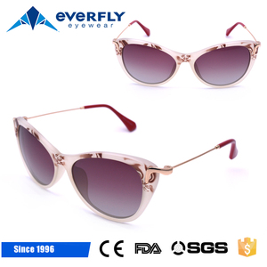 HOT Selling sunglasses 2017 women party sunglasses custom cat eye sunglasses Chinese style sun glasses