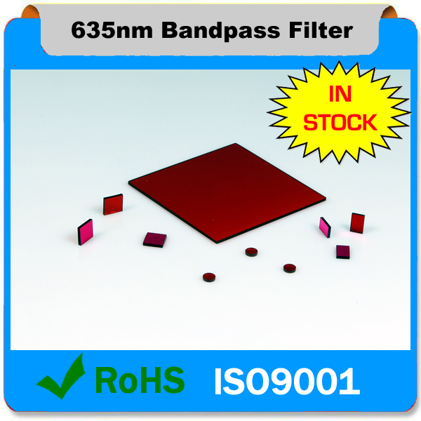 635nm Bandpass filter Optical filter for Laser projector