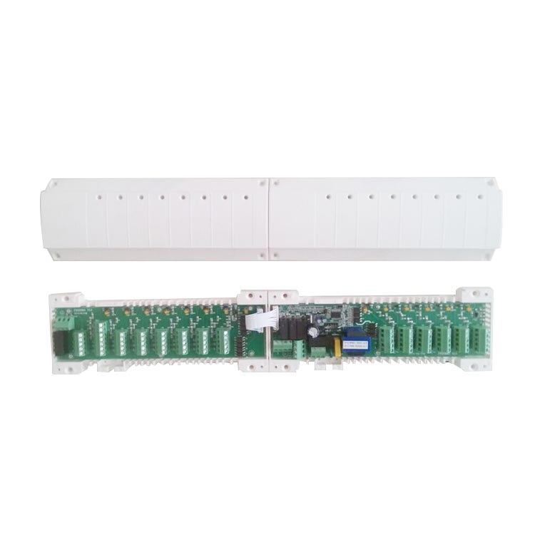 Under floor heating system control system