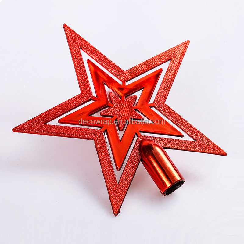 Tree decoration christmas star christmas tree top star