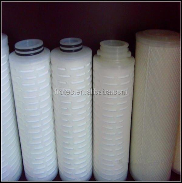 N66 Pleated Filter Cartridge/ Nylon Membrane Cartridge Filters for Food and Beverage