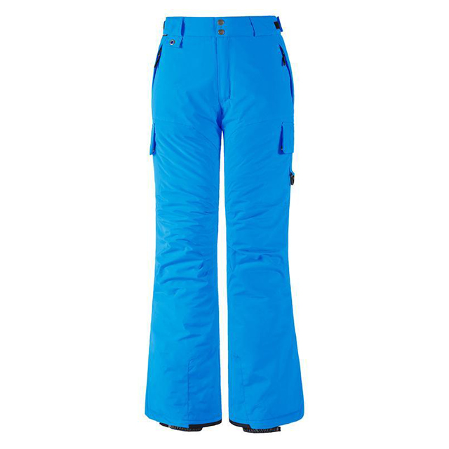 Women's Waterproof Padding Insulated Cargo Snow Pants