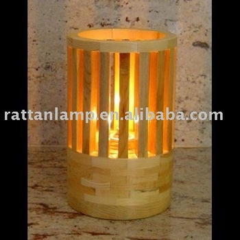 Countryside Style Bamboo Table Lamp