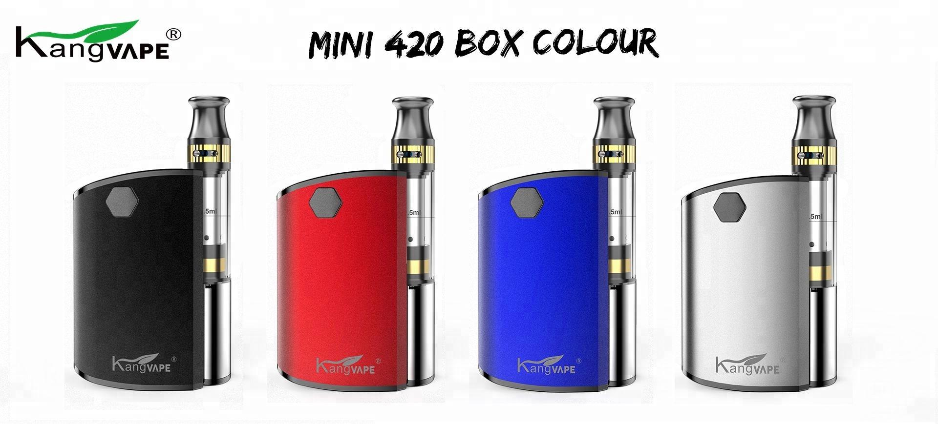 Kangvape  oil cartridge for vape pen packaging mini 420 box  CBD oil Cartridge vape box ceramic core 510 cbd  battery