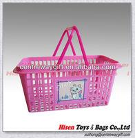 Plastic Small Gift Basket Empty