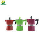 3 Cups Stovetop Espresso Maker / Aluminum Coffee Maker For Gas Stovetops