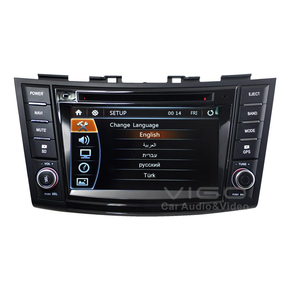 car stereo gps navigation for suzuki swift 2011 2012 multimedia headunit sat nav autoradio radio. Black Bedroom Furniture Sets. Home Design Ideas