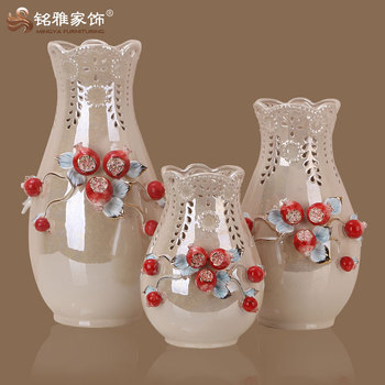 Guangzhou Wholesale Decoration Ceramic Vase For Wedding Table