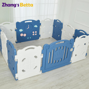 Good quality kids plastic play fence folding baby playpen