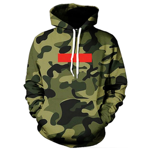 Mens Autumn High Quality Camouflage men Pullover Hoody Printed Sport Hoodies