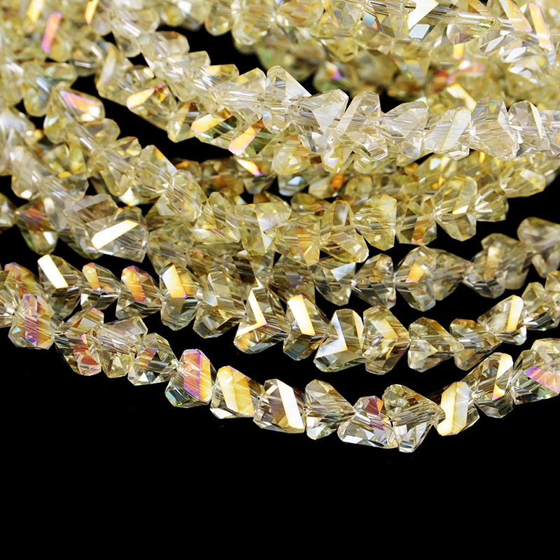 All New Style Curtain Beads Colorful Crystal Different Shape Beads For Accessories фото