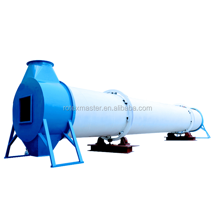 Widely Used Wood Chips Rotary Dryer for Sales